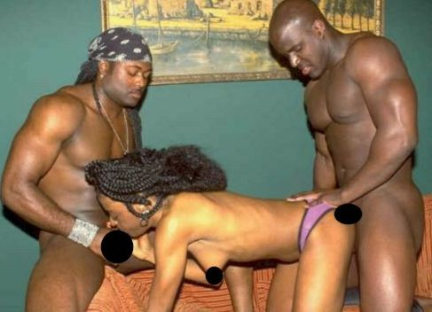 black sex: big black cock and pink ebony pussy